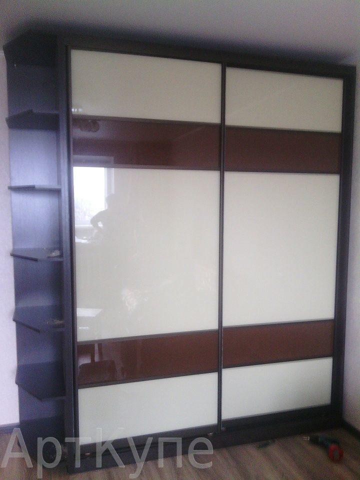 Шкаф-купе oracal с угловым терминалом1 шкафы-купе, от мебель.