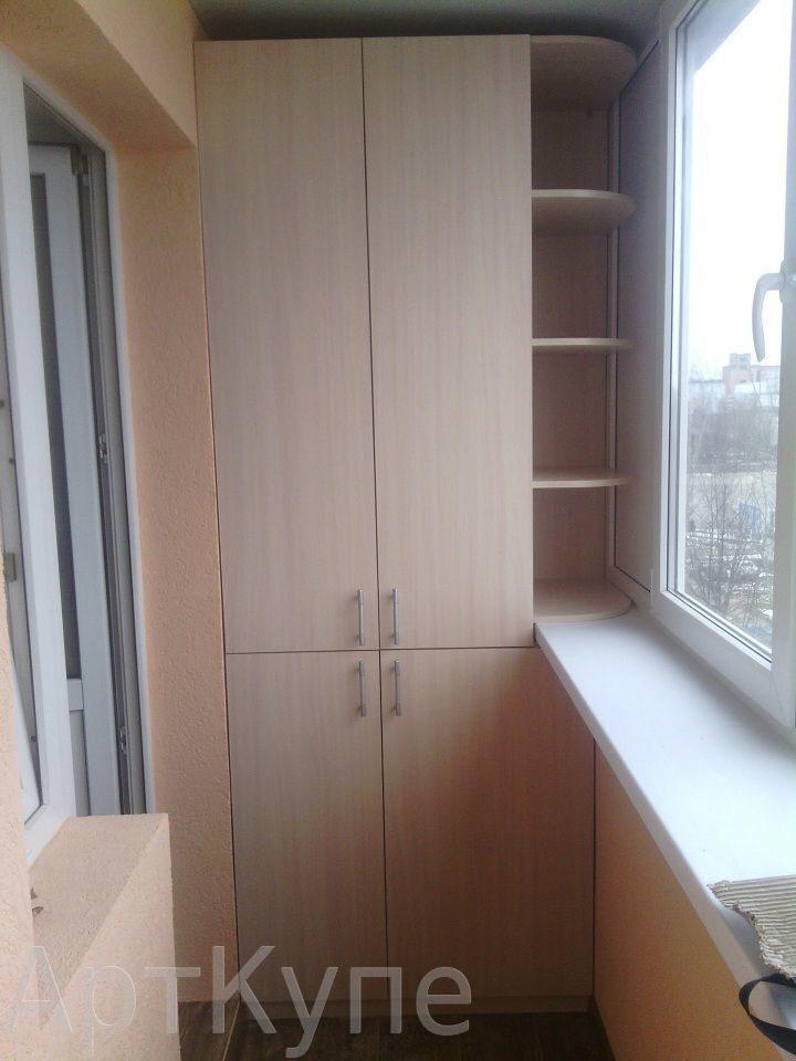 Шкаф на балкон1 шкафы-купе, от мебельной студии арткупе в ка.
